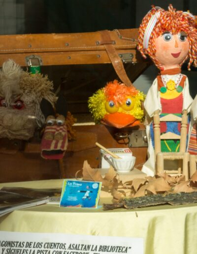 exposición de títeres y marionetas