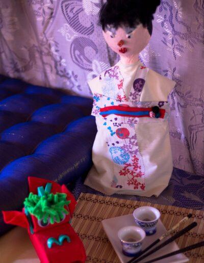 marioneta geisha
