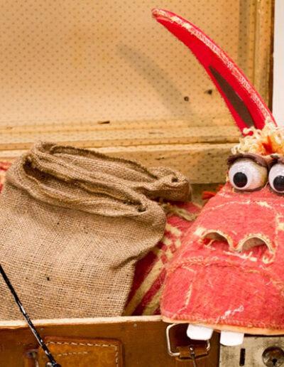 Marioneta Burrito Pepe