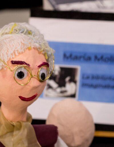 Marioneta de María Moliner