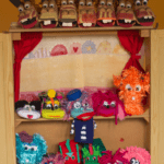 marionetas en exposición
