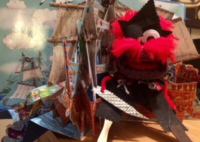 Calcetín pirata 2