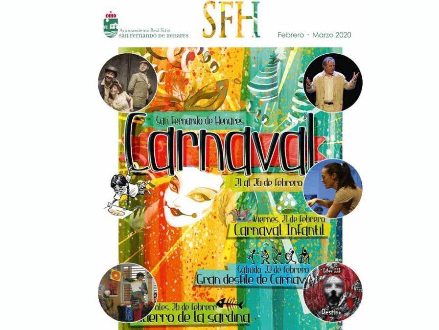 Titiriroci en el Carnaval San Fernando de Henares